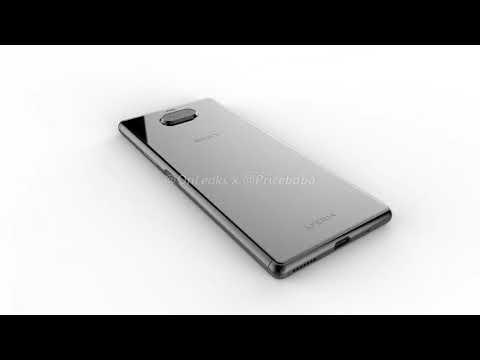 Erste CAD-Renderbilder des Sony Xperia 20 aufgetaucht