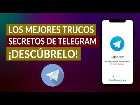 Los Mejores Trucos Secretos de Telegram para Usarlos y Sacarles el Máximo Provecho