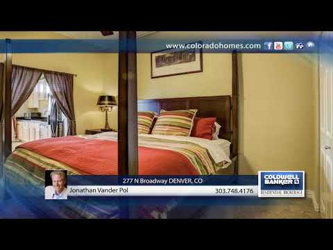 Jonathan Vander Pol Presents 277 N Broadway DENVER, CO | Coloradohomes.com