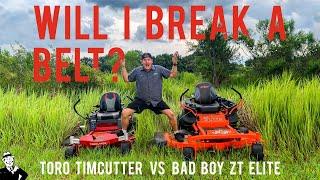 Bad Boy vs TORO Timecutter Residential Mowers