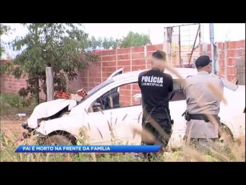 Motoqueiros matam empresário em frente da família em Goiás