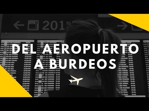 ¿Como ir del Aeropuerto de Burdeos al centro?