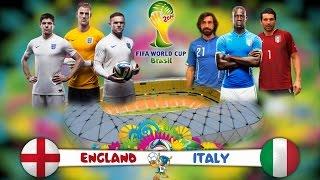 ملخص مبارة انجلترا وايطاليا كاس العالم 2014