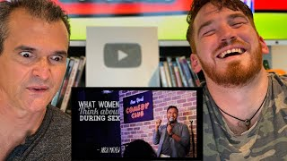 WHAT WOMEN THINK ABOUT DURING SEX REACTION!!! - Abish Mathew   Stand up comedy