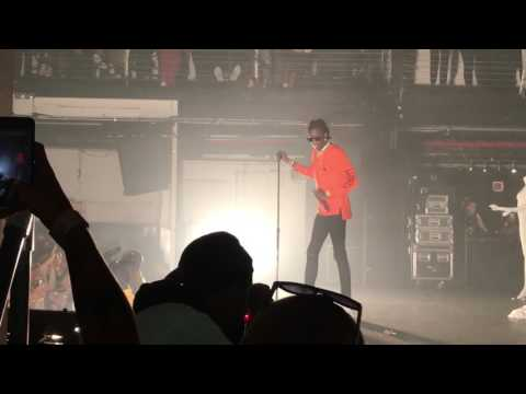 Young Thug performs 'Feel It' at Terminal 5 for a One Night Only event for BTG