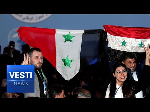 Syrian National Dialogue Congress Gathers in Sochi To Decide the Future of their Country