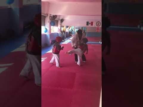 Cris en el Taekwondo