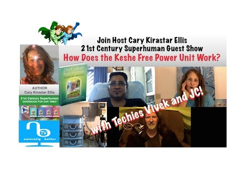 How Does the Keshe Free Energy Power Unit Work?  - 21st Century Superhuman Show