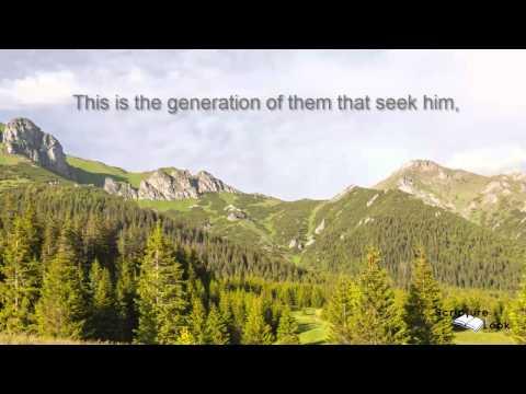 Psalm 24:6 Abigail Miller Scripture Song KJV Text