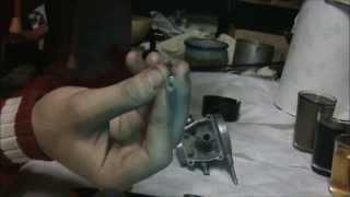Babetta 210  Karburator  Olej