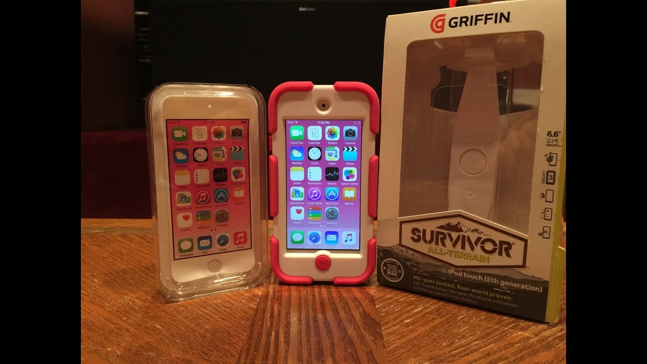 uk availability f7d35 5ad23 Pink iPod 6 w/ Griffin Survivor Case Unboxing and Impressions!