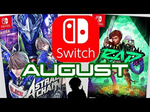 10 Nintendo Switch Games Coming August 2019!