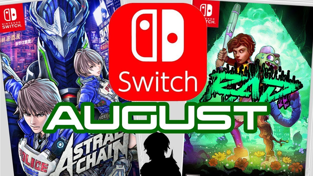 Top 10 Nintendo Switch Games Coming August 2019 Youtube