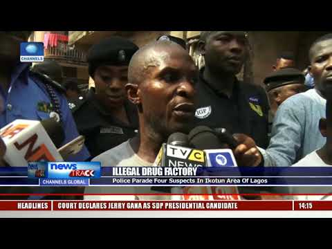 Police Uncover Alleged Fake Drugs Factory In Lagos