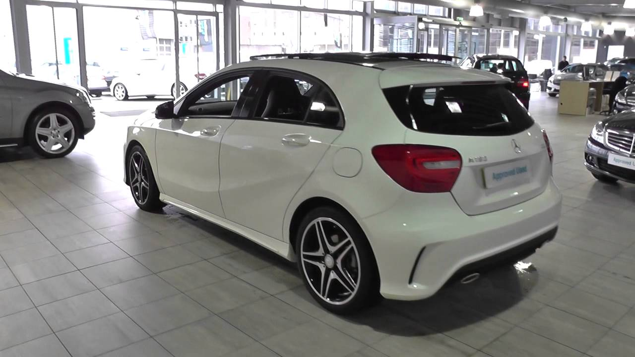 mercedes benz a class a180 cdi blueefficiency amg sport 5dr auto u40710 youtube. Black Bedroom Furniture Sets. Home Design Ideas