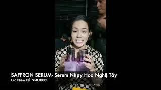 Nhật Kim Anh Live Giới Thiệu Bộ Đôi Kem Đêm Nhuỵ Nghệ Tây Và Giá Bán Mới Nhất Của Laura Sunshine!