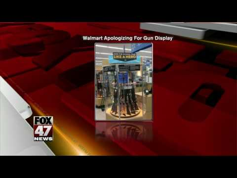 Walmart Under Fire Over Back-to-school Gun Display