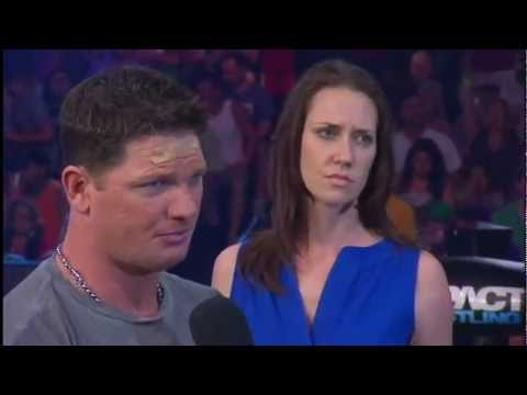 AJ Styles, Claire & Daniels In Ring Segment - Impact 12/7/2012