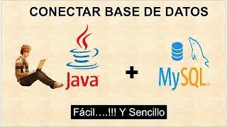Como Hacer la Conexión de  Base de Datos Mysql con Java Netbeans