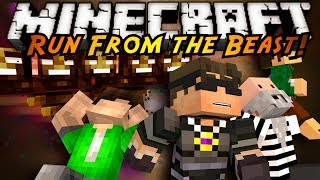 minecraft mini game run from the beast 2 0