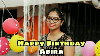 Happy Birthday Abira Surprise Birthday Wish From Unknown People