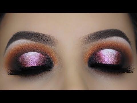 Smokey Halo Eye Makeup Tutorial