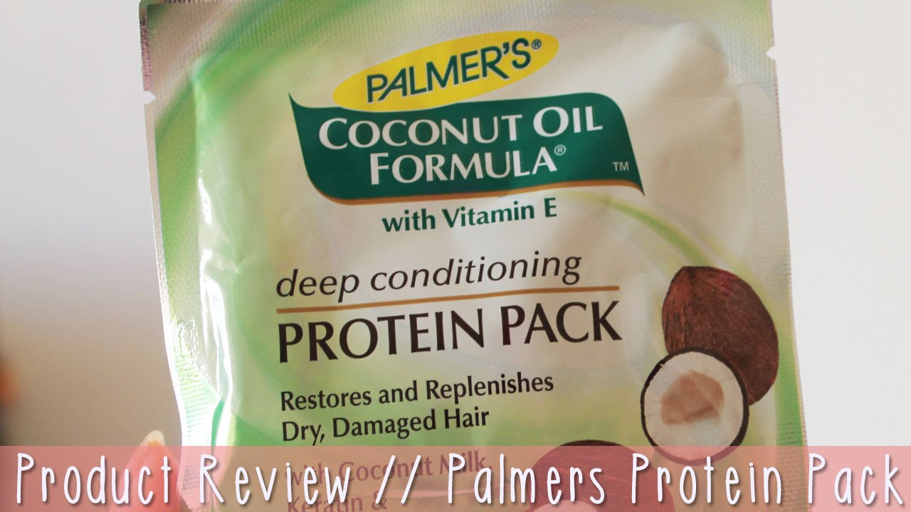 Palmers Deep Conditioning Protein Pack Product Review On Heat Damaged Natural Hair You