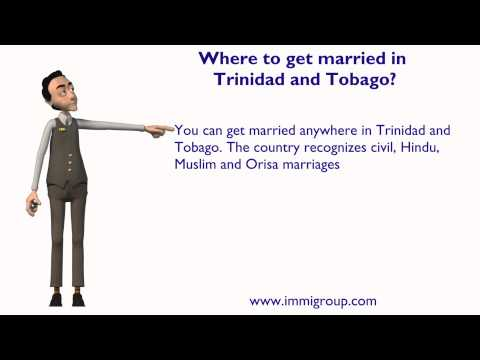 Where to get married in Trinidad and Tobago?