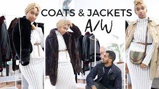 A/W COATS & JACKETS FT. THE HUSBAND | RIVER ISLAND, BURBERRY, ASOS | Modest Picks