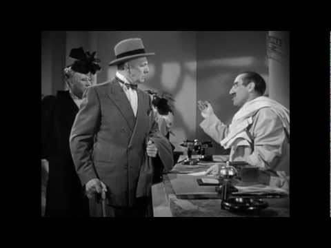 "Groucho Marx As The Hotel Clerk - ""A Night In Casablanca"""