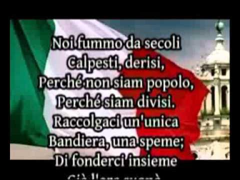 Fratelli D'Italia - Versione Completa - Inno Nazionale Italiano - con testo
