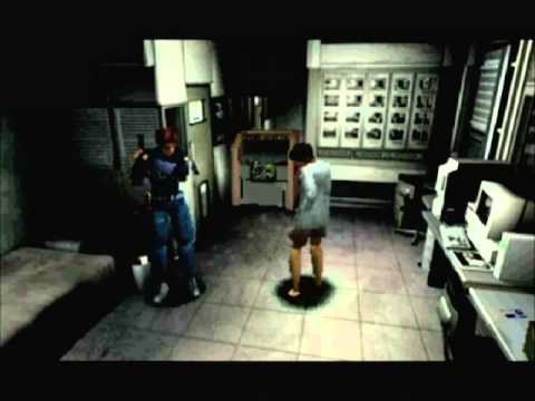 RESIDENT EVIL 1.5 - Zone 401 Keeper Office - LEON / ELZA
