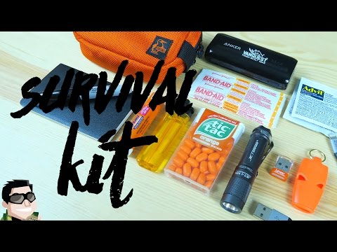 Survival Kit For High School Or College Kids