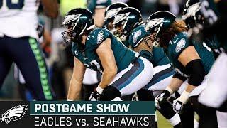 Philadelphia Eagles vs. Seattle Seahawks Postgame Show | Wild Card Round