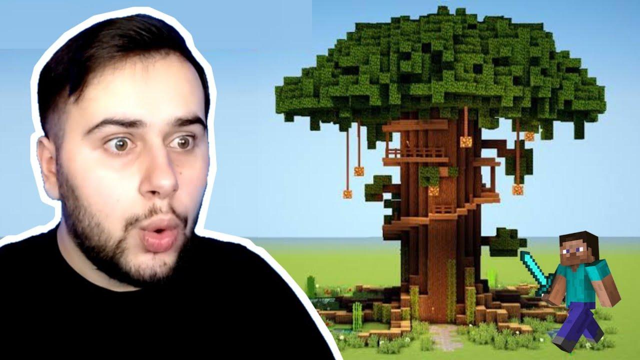 DEVASA AĞAÇ EV YAPTIM 😯 - Ekiple Minecraft (12.Bölüm)
