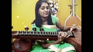 Ghoomar Padmavat best Bollywood song on Veena by Ranjani mahesh
