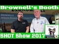 Brownells Booth | SHOT Show 2017