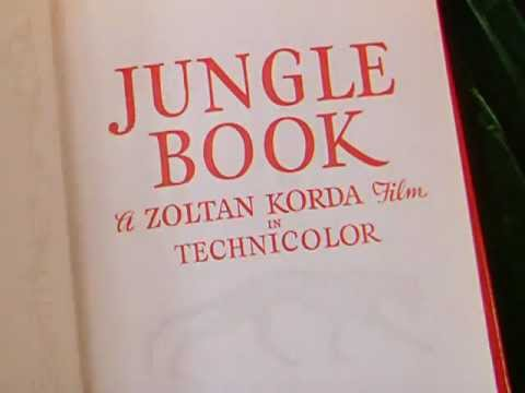 Jungle Book (1942) title sequence