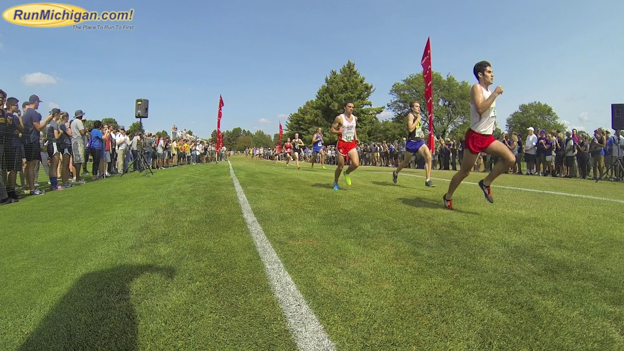 Men's College 8k - 2017 Spartan Invitational