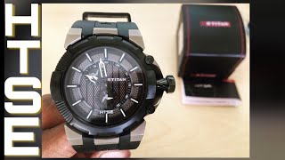 Titan HTSE 1539KP01 Light Powered Watch Unboxing and Review