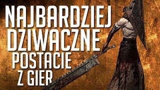 10 najbardziej dziwacznych potworów i postaci z gier [tvgry.pl]