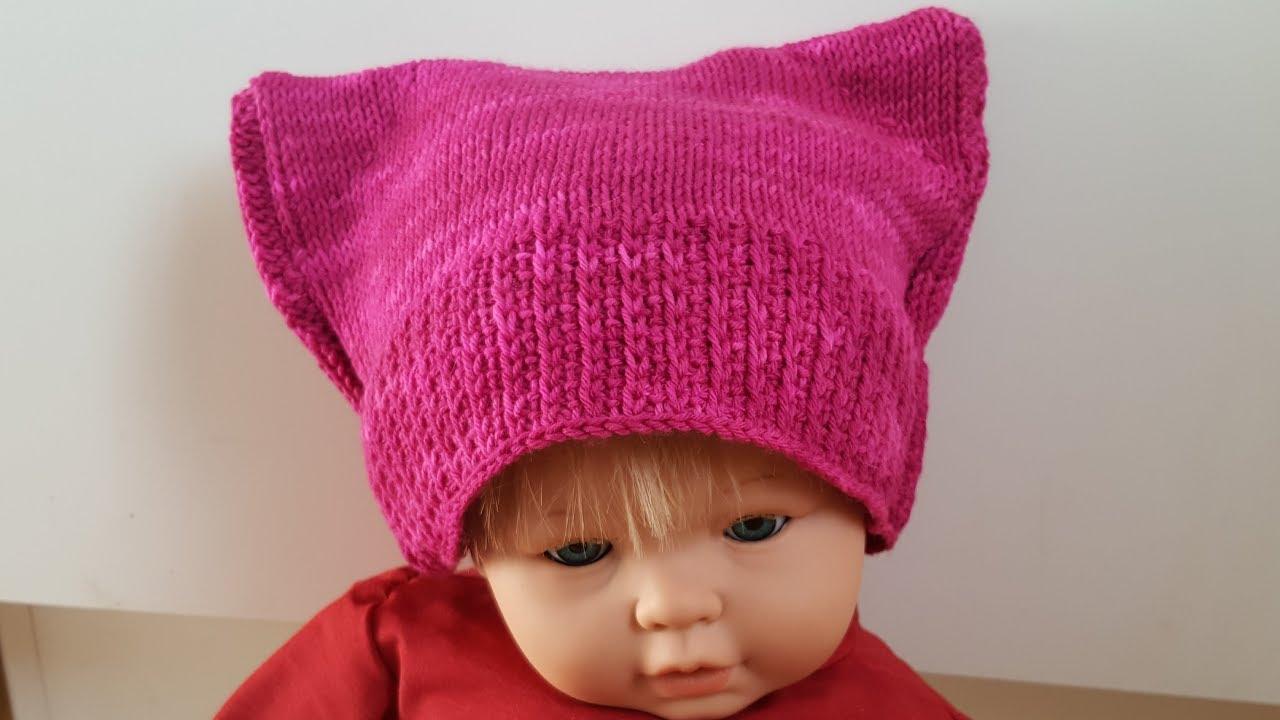Anleitung Tunesisch Häkeln Pussy Hat Oder Auch Mietzes Mütze