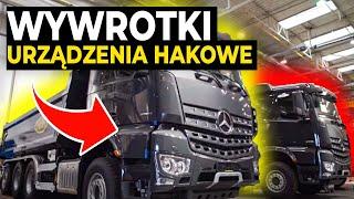 Jak powstają wywrotki i urządzenia hakowe? - Fabryki w Polsce