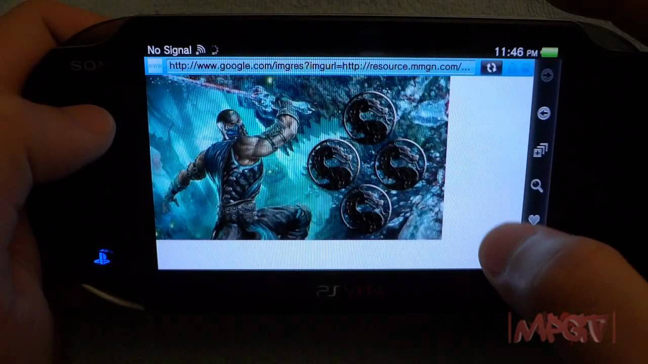 PS Vita How To Search Install Wallpaper Im Back