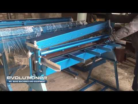 Manual guillotine metal shearing machine MG 1250