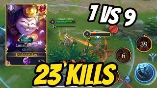 SLIMZ NEW BUILD NEW PATCH 1V9 HARD CARRY | AoV | 傳說對決 | RoV | Liên Quân Mobile