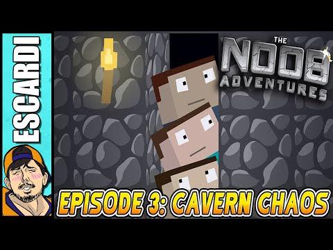 Minecraft: The N00b Adventures Ep3 [Spanish Fandub]