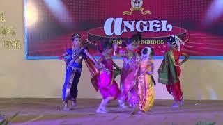 ANGEL SCHOOL - Pinga - 9th Annual Day .