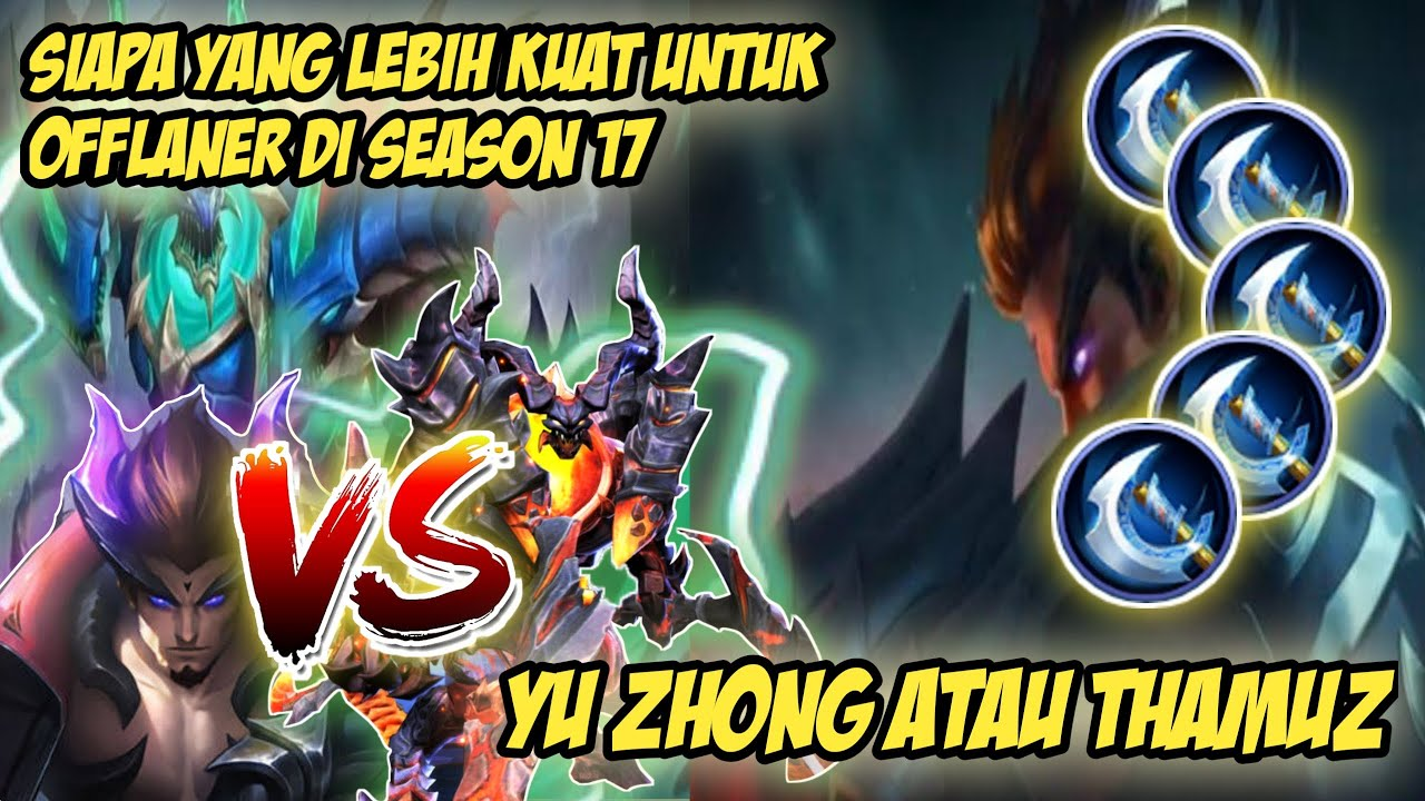 Yu Zhong VS Thamuz - Mobile Legends
