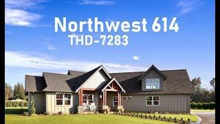 Tour of Modern Craftsman House Plan | THD-7283